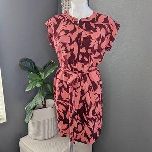 LOFT Floral Petite Dress
